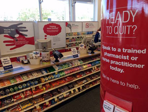 End the sale of tobacco in pharmacies